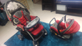 Chicco baby pram stroller with capsule and car attachment