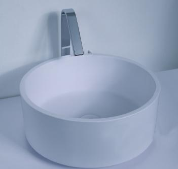 Dial Above Counter Stone Basin 400 x 400 x 150