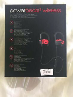 New and sealed Power Beats 3 wireless headphones bought on 4.2
