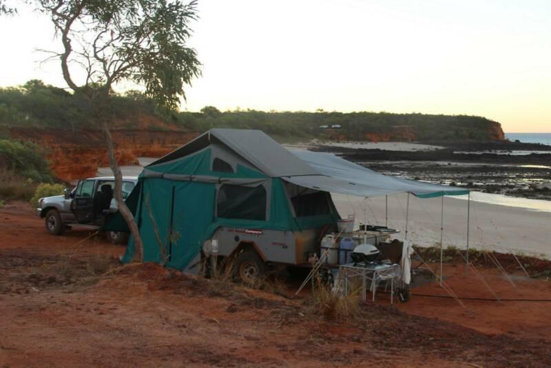 Australian Offroad Odyssey ZR - 2007 Hard floor Camper Trailer