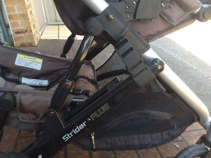 Strider Plus Pram - Double Seats
