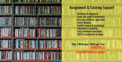 1 Fast & Reliable Assignment & Tutoring