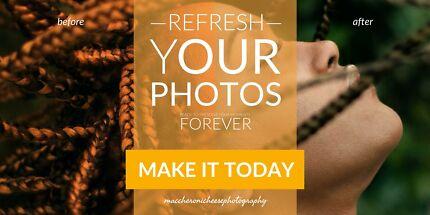 professional photographer, post-production &amp photo album