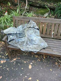 Pram/ stroller rain cover. Valco brand but adaptable