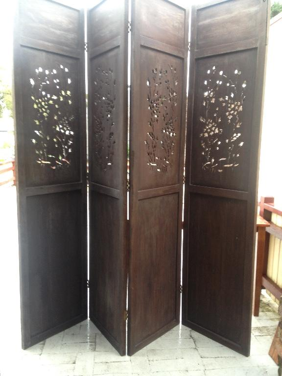 4 Panel room divider / screen