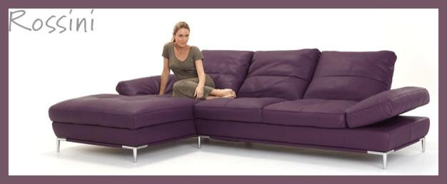 Nickscali 3 seater with chaise 2 seater modular leather lounge