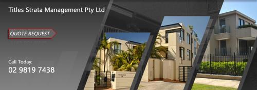 Sydney Strata Services - Titles Strata Management Pty Ltd