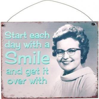 Start Each Day Sign