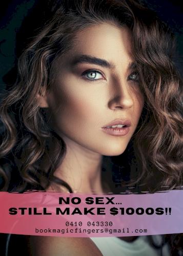 ♥ 0410 043 330 ♥ Magic Fingers Masseuses Needed - No Sex, Make $1000s!! ♠